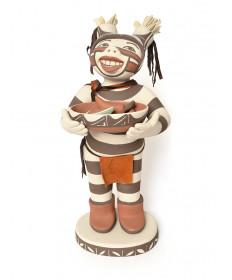 Pottery clown by Kathleen Wall (Jemez)