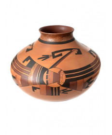 Pottery bowl by Deborah Clashin (Hopi)
