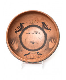 Pottery Bowl by Garrett Maho (Hopi)