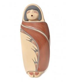 Pottery figurine by Maxine Toya (Jemez)