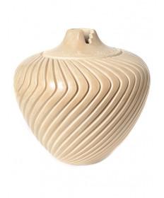 Carved pottery bowl by Alvina Yepa (Jemez)