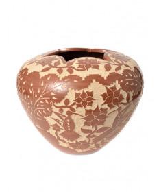 Pottery bowl by Alvina Yepa (Jemez)