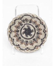 Miniature Friendship Basket by Adeline Molina (Tohono O'odham)