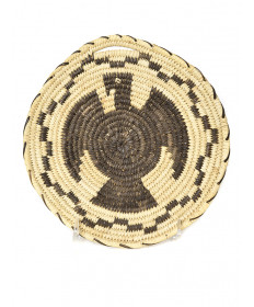 c. 1980 eagle basket by Angeline Ramon (Tohono O'odham)