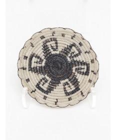 Miniature Sun Basket by Adeline Molina (Tohono O'odham)