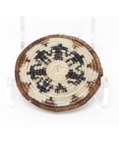 Miniature Friendship Horsehair Basket by Angelina Molina (Tohono O'odham)