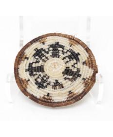 Miniature Friendship Horsehair Basket by Angelina Molina (Tohono O'odham)