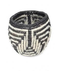 Miniature horsehair basket by Elizabeth Juan (Tohono O'odham)