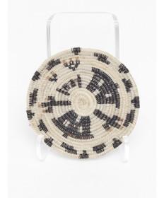 Miniature Houses Basket by Adeline Molina (Tohono O'odham)