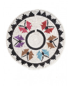 Butterfly basket by Fannie King (Navajo)