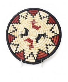 Deer coil basket by an unknown artist (Hopi)