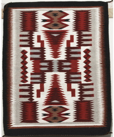 Storm Pattern Rug by Mary Knight (Navajo)