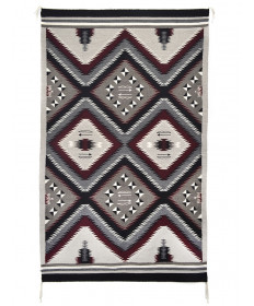 Eye Dazzler rug by Dianna Lee (Navajo)