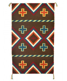 Revival rug by Mike Joe (Navajo)