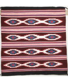 Sash Design Rug by Nora Yazzie (Navajo)