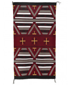 3rd Phase Chief's Blanket by Janice Vanwinkle (Navajo)