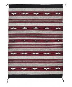 Crystal rug by Nellie Begay (Navajo)