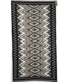 Eye Dazzler Rug by Ruby Coggashell (Navajo)