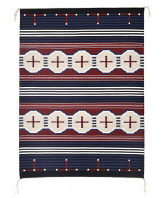 Revival rug by Laverne Tacheney (Navajo)