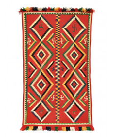 Germantown rug by an unknown artist (Navajo)