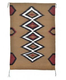 Eye Dazzler rug by Dollie Gray (Navajo)