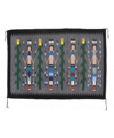 Yei rug by Lillian Sloan (Navajo)