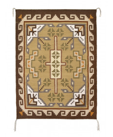 Traditional rug by Augustine Mitchell (Navajo)
