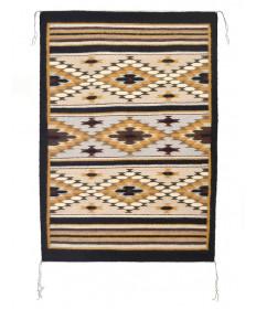 Crystal rug by Darlene John (Navajo)