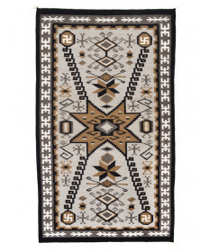 Two Grey Hills rug by Teresa Foster (Navajo)