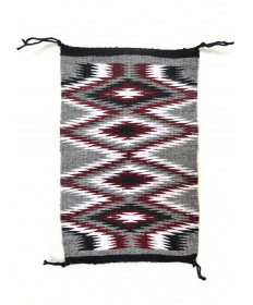 Miniature Chinle rug by Victoria Lillie (Navajo)