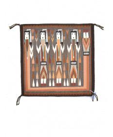 Yei rug by Etta Peacock (Navajo)