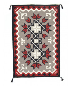 Klagetoh rug by Joann Sakiestewa (Navajo)