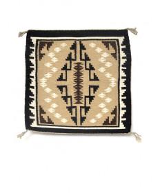 Two Grey Hills rug by Regina Charley (Navajo)