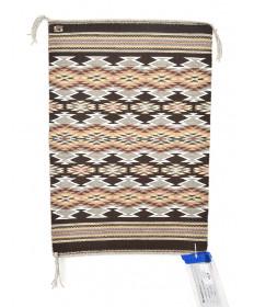 Wide Ruins rug by Geneva Shabi (Navajo)