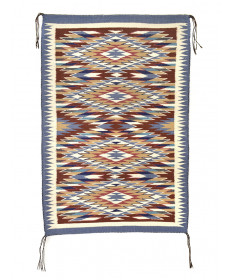 Red Mesa outline rug by an unknown artist (Navajo)