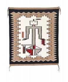 Sandpainting rug by Esthervon Spencer (Navajo)