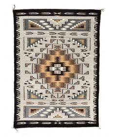 Burnham rug by Bessie Barber (Navajo)