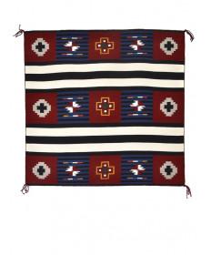 3rd Phase Chief's rug by Elvie Van Winkle (Navajo)