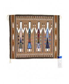 Yei rug by Kenita Chischilly (Navajo)