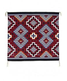 Third Phase Chief's rug by Elvie Van Winkle (Navajo)