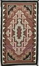 Two Grey Hills Rug by Bertha Nez (Navajo)